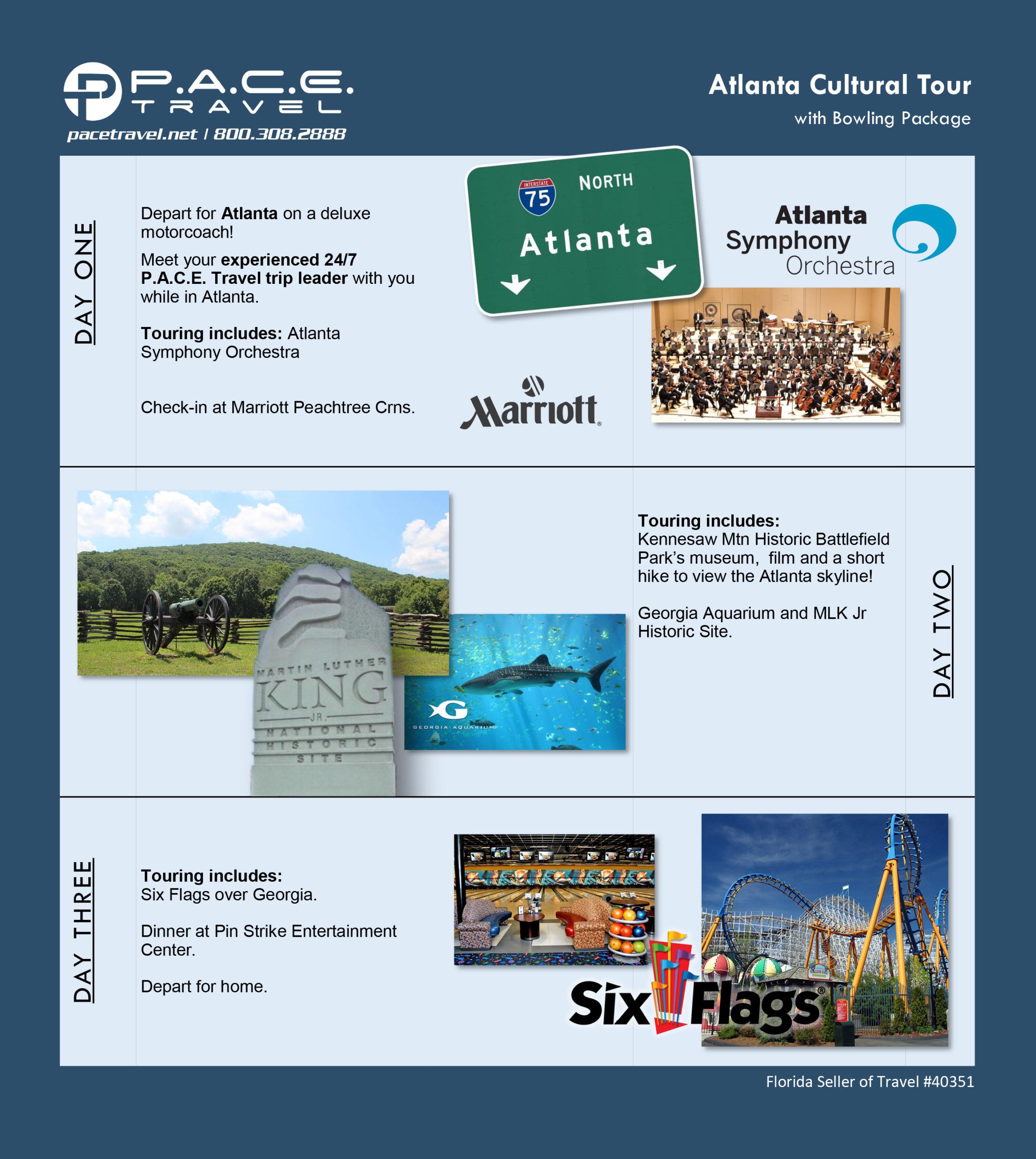 Atlanta 2021 Trip Package - Pace Travel